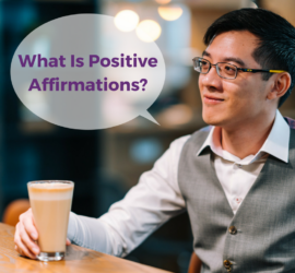 What Is Positive Affirmations slide with Lee McKing