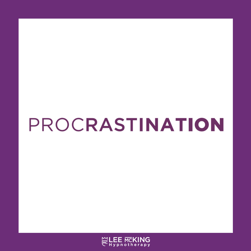 how lee mcking hypnosis can help with procrastination