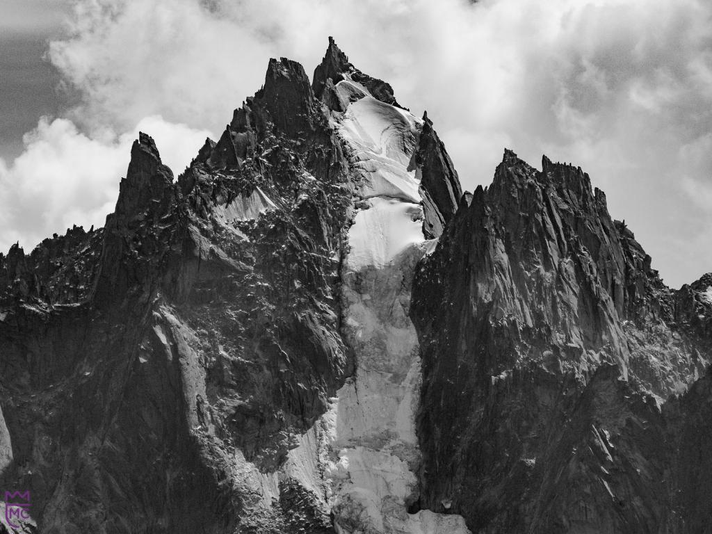 Presentation steep mountain