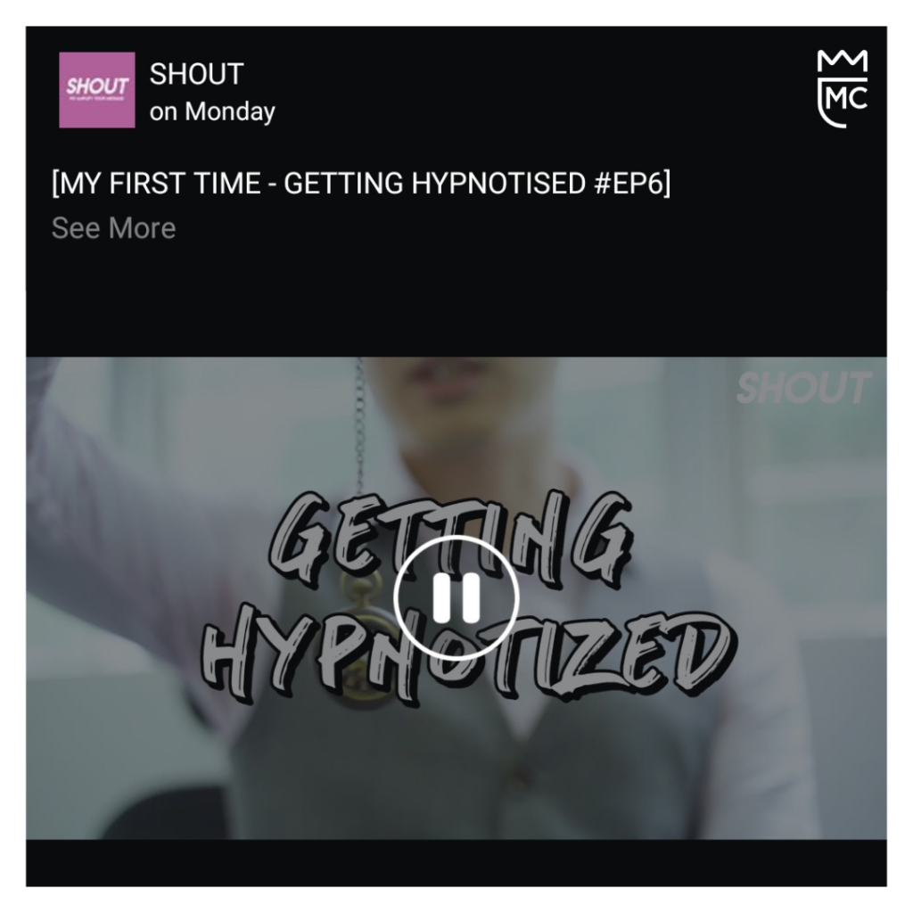 Click here if you want to watch the first time they tried hypnosis!
